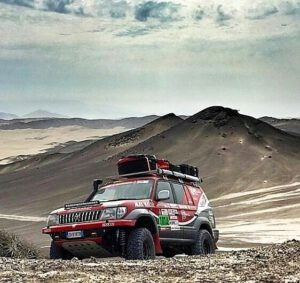 TOYOTA LAND CRUISER KZJ95 Dakar Rally.